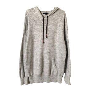 AEO | Light Gray Hooded Sweater